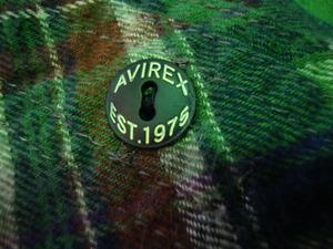 AVIREXネルシャツ 001.jpg